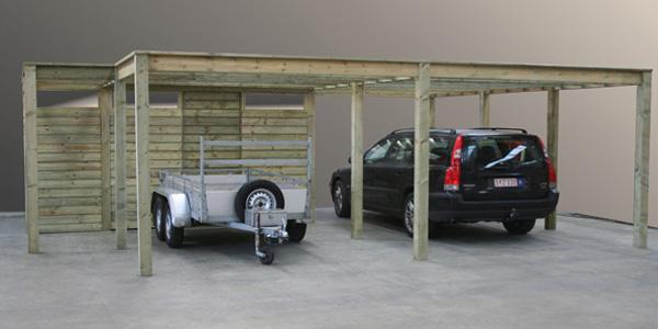 Carport Berging Tuinhuisjes - Kennelbouw Exclusief